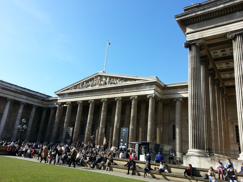 colour photo of British Museum