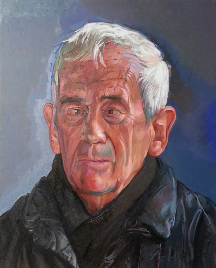 pic of oil painting of Raymond