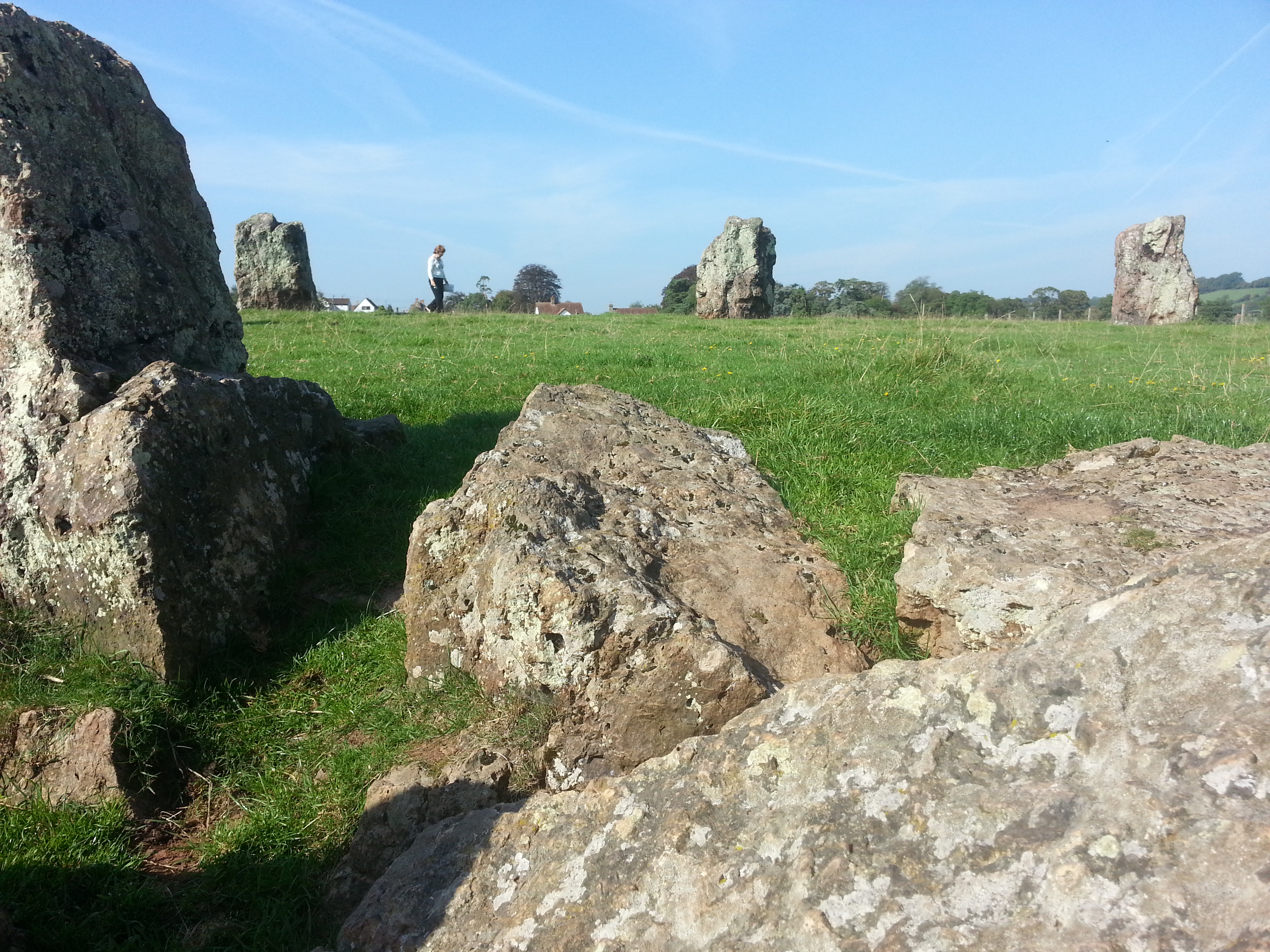 pic of stone circle at stanton drew