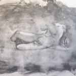 drawing of elgin marble by alan dedman