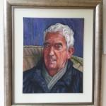 catalogue oil portrait of raymond by alan dedman