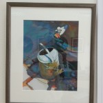 watering can still-life by alan dedman giclee print