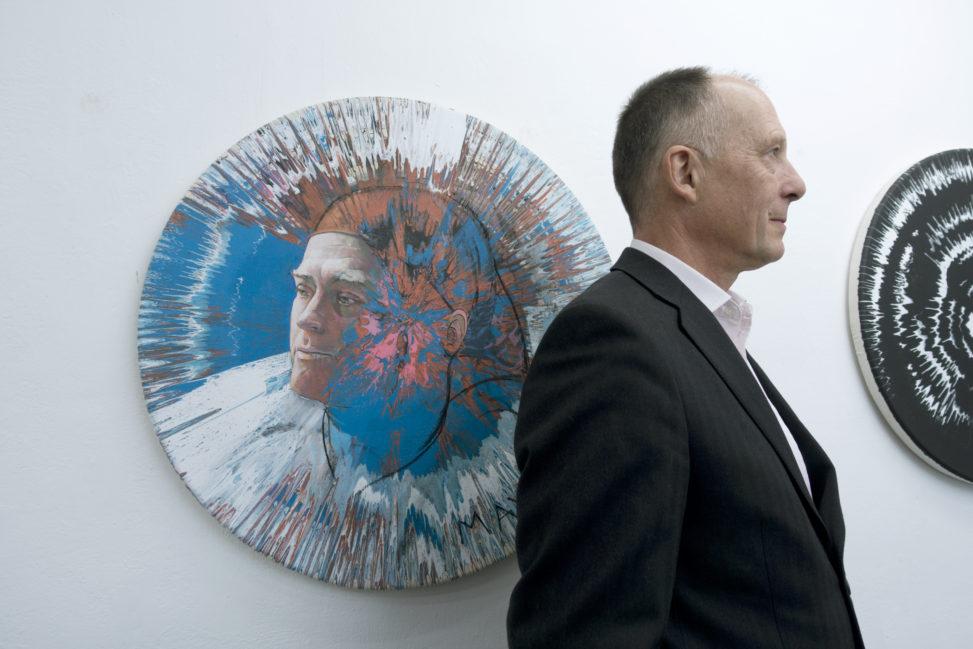 photo of alan dedman at studio1.1 Leon Kusminsky