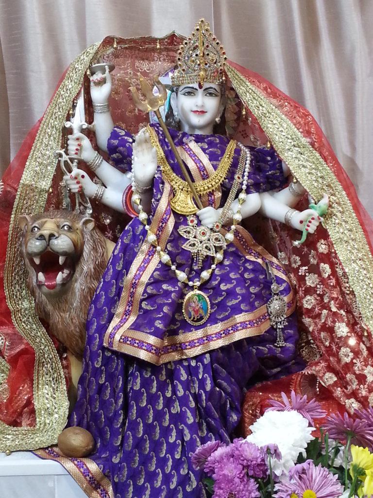 Amba Hindu goddess yoga for blokes alan dedman