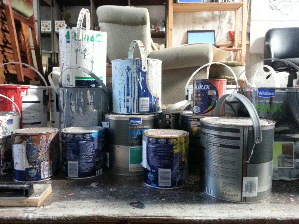 paint the fall alan dedman
