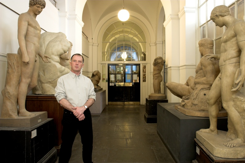 alan dedman in the royal academy schools