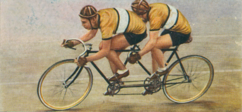 pic of a tandem Great Yarmouth College of Art & Design Alan Dedman