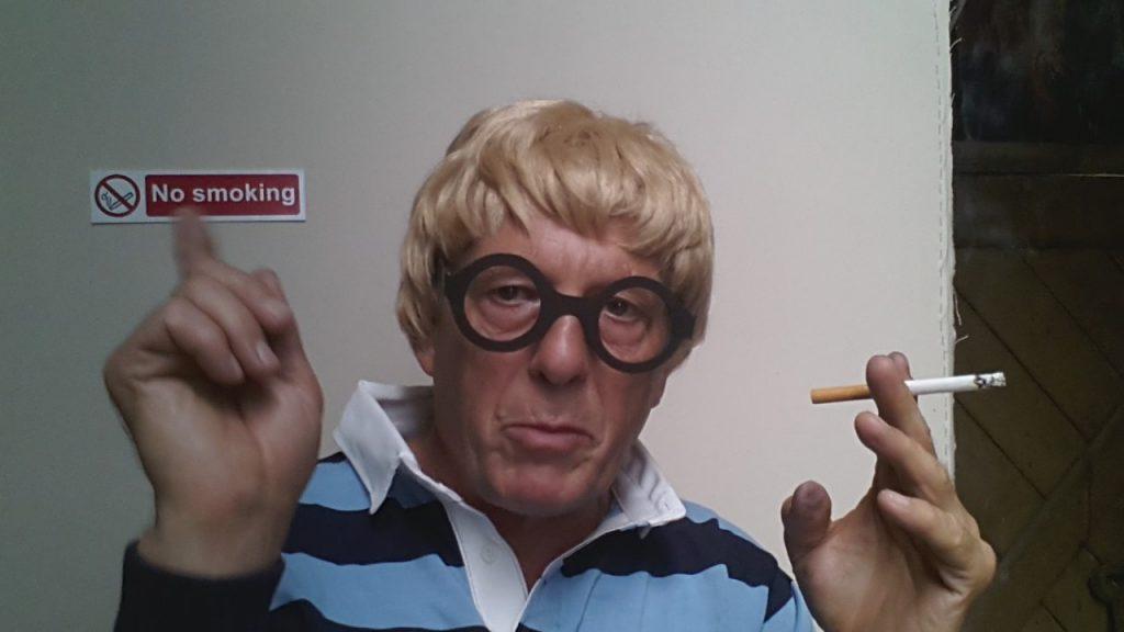 Smoking cures Coronavirus Alan Dedman
