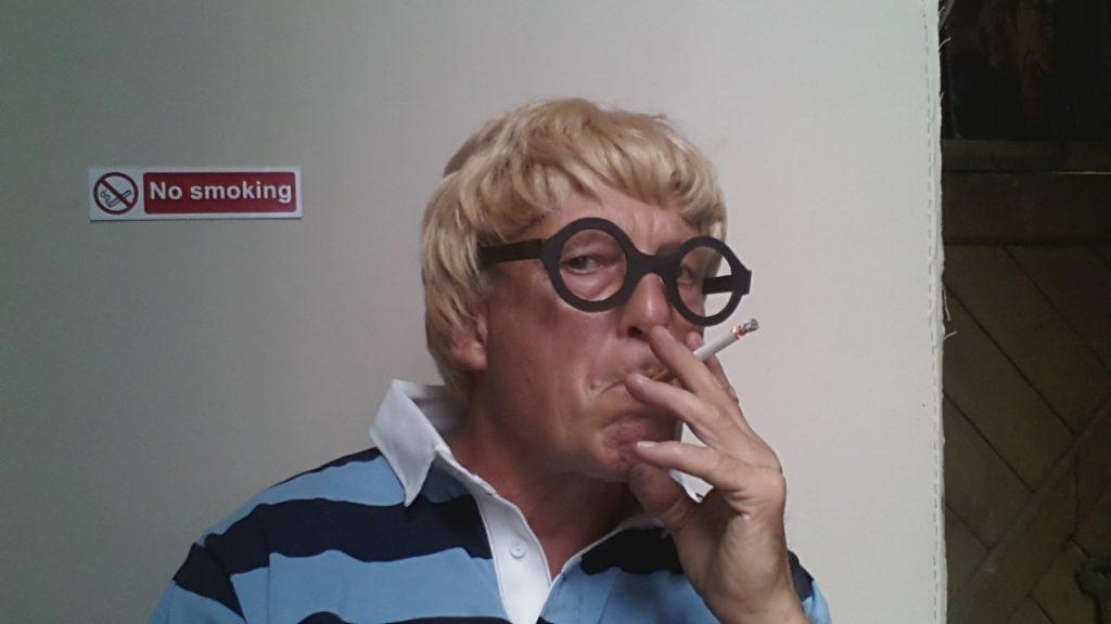 Smoking does NOT harm your elf! David Cockney Alan Dedman