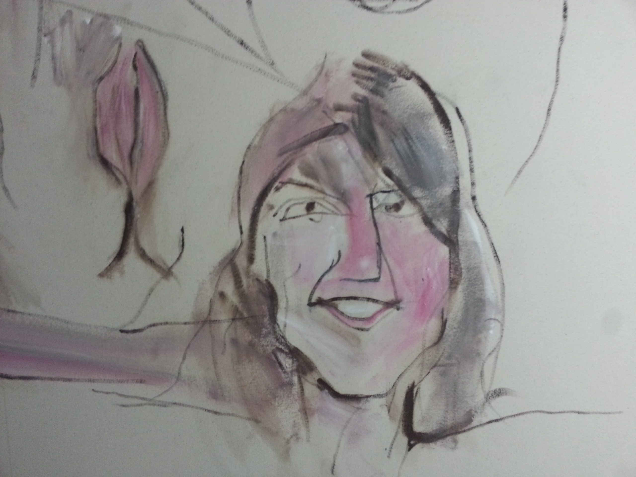 Face in Les Dems alan dedman