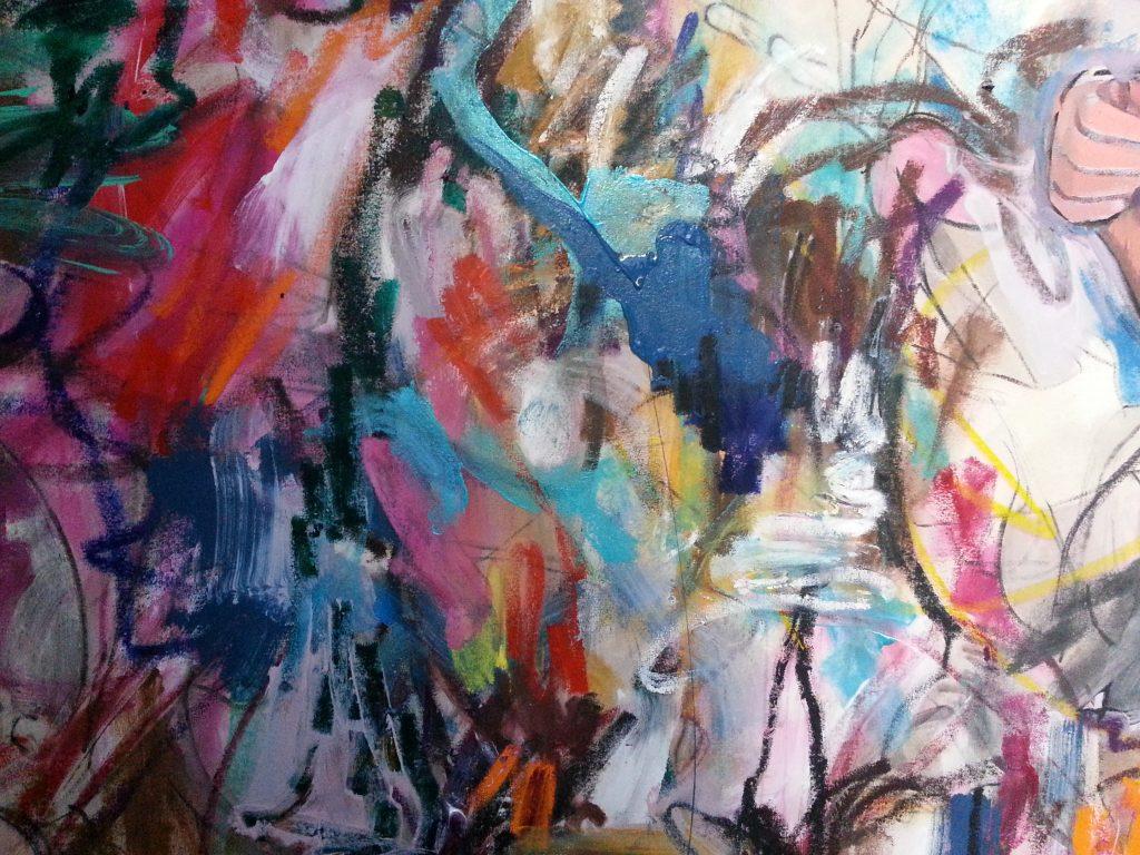 Colour and surface detail in Les Demoiselles (de Barrow Gurney) by Alan Dedman