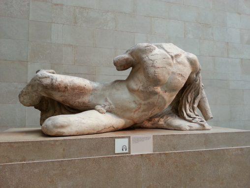 pic of Illisos in the duveen gallery alan dedman elgin marbles durham union debate