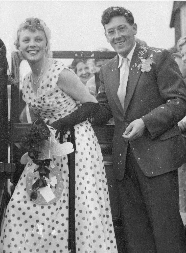 black & white pic of basil and rita dedman married alan dedman basil george dedman obituary
