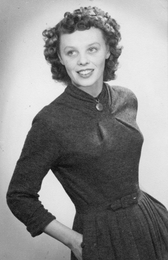 black and white pic of Rita Dedman alan dedman basil george dedman obituary